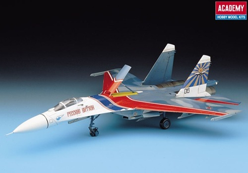 AC2167 RUSSIAN KNIGHTS SU-27 FLANKER B (1/48)