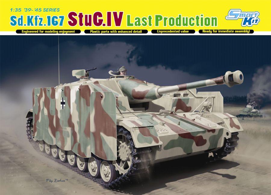DRA6647 STUG.IV LAST PRODUCTION 1/35 SCALE