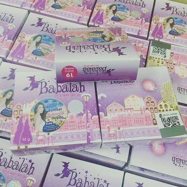 Babalah Cake 2 Way 14 g. บาบาร่า แป้งเค้กทูเวย์ กันเหงื่อ กันน้ำ 100%