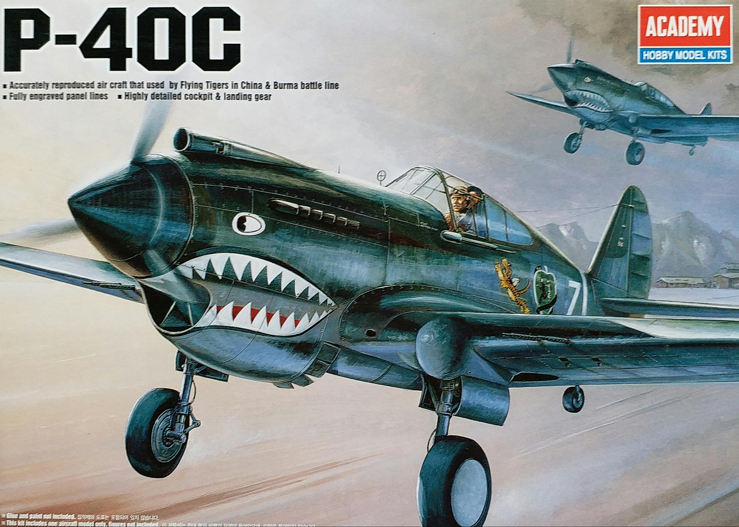 AC12280 P-40C 1/48