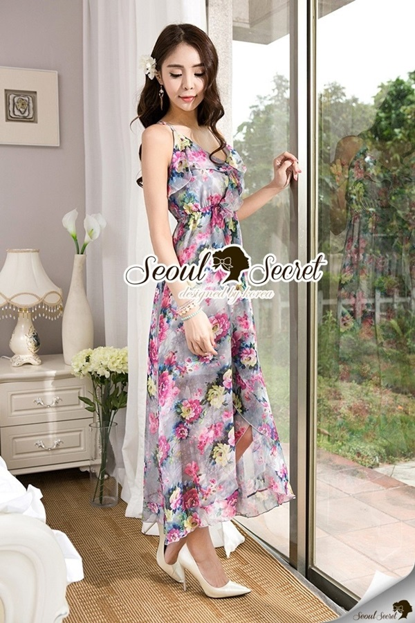Seoul Secret Chic Bloom Maxi Singlet