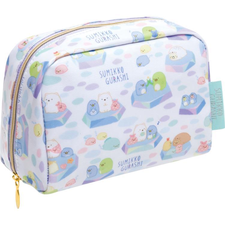 กระเป๋าใบเล็ก Sumikko Gurashi เพนกวินสีฟ้า