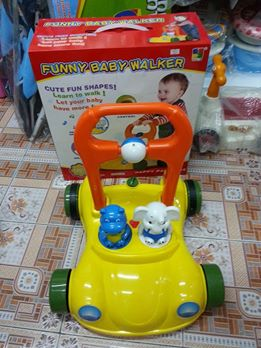 Funny Baby Walker รถผลักเดิน ปรับหนืดได้