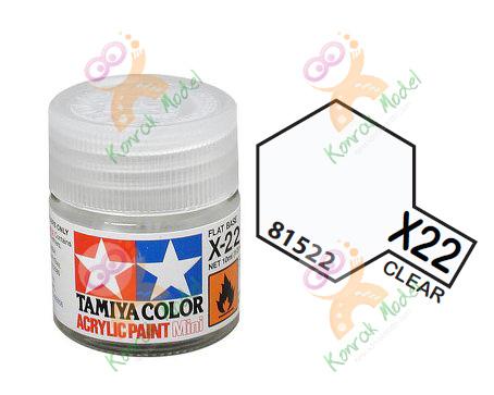 Acrylic X22 Clear 10ml