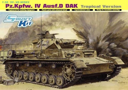 DRA6779 Pz.Kpfw.IV Ausf.D DAK Tropical Version (1/35)