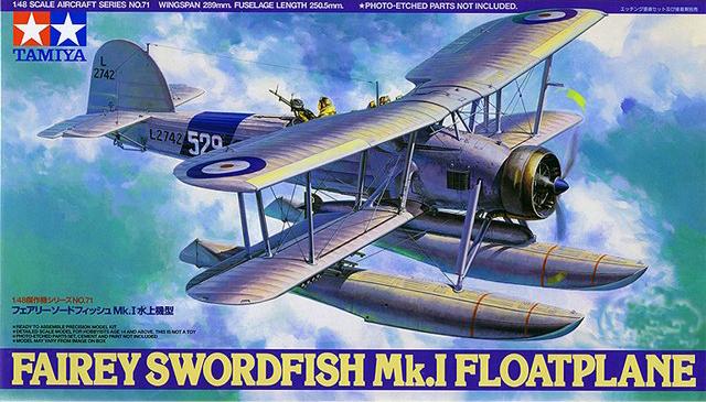 TA61071 1/48 Fairey Swordfish Floatplane