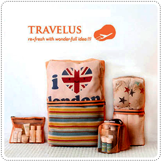 4-In-1 Travelus Pouch Set