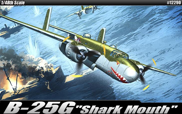"AC12290 B-25G""SHARK MOUTH"" 1/48"
