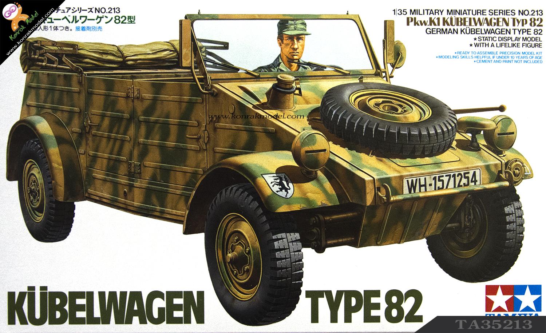 TA35213 German Kubelwagen Type 82 1/35