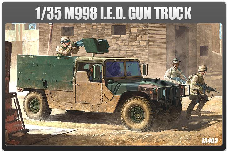 AC13405 M998 I.E.D. GUN TRUCK (1/35)