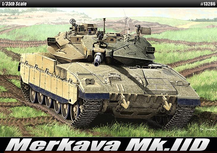 AC13286 MERKAVA MK.IID 1/35