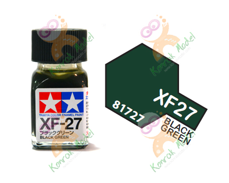 Enamel XF27 Black Green 10ml