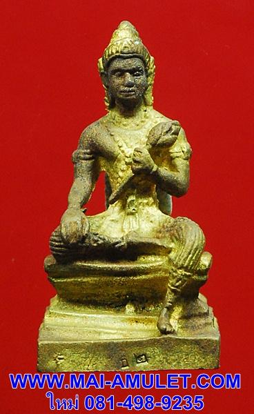 พระวิษณุ (นารายณ์) เทพผู้คุ้มครองโลก กะหลั่ยทอง วัดสุทัศน์ ปี 52 พร้อมกล่องครับ