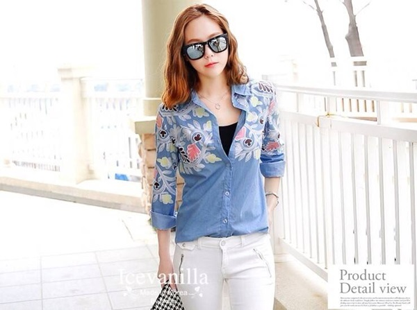 Icevanilla Cultivating Cotton Retro shirt