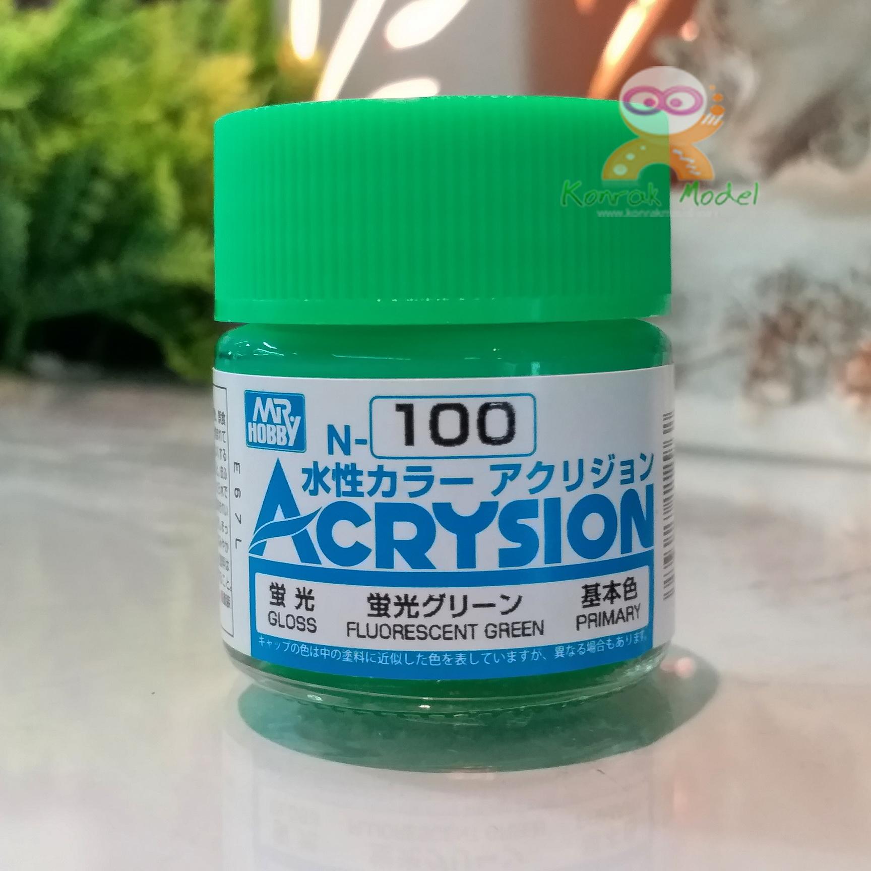 N100 FLUORESCENT GREEN (Gloss) 10ml