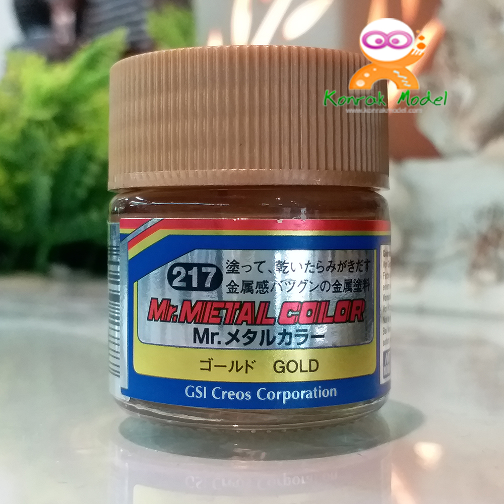 MC217 Mr.Metal Gold 10ml