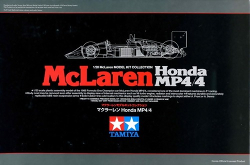 TA89719 MC LAREN HONDA MP4/4 1/20