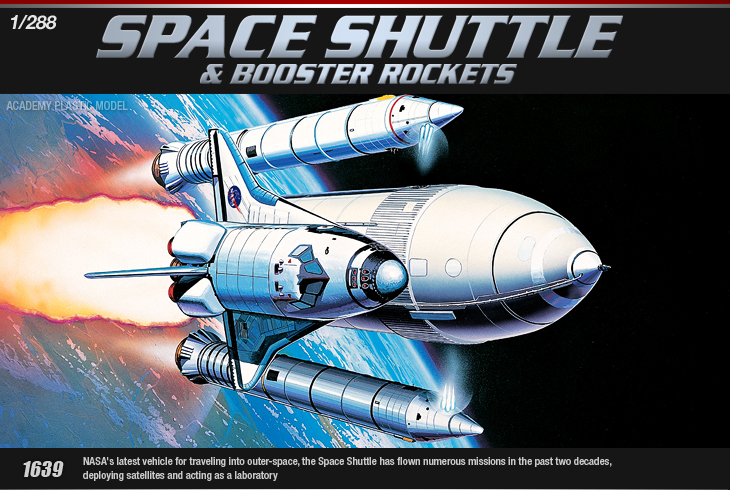AC12707 SPACE SHUTTLE W/BOOSTER ROCKETS (1/228)