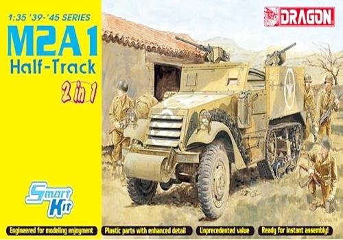 DRA6329 M2A1 HALF-TRACK 2 IN 1 1/35