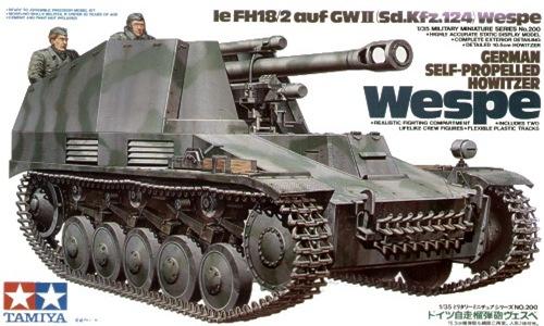 TA35200 GERMAN SELF-PROPELLED HOWITZER WESPE 1/35