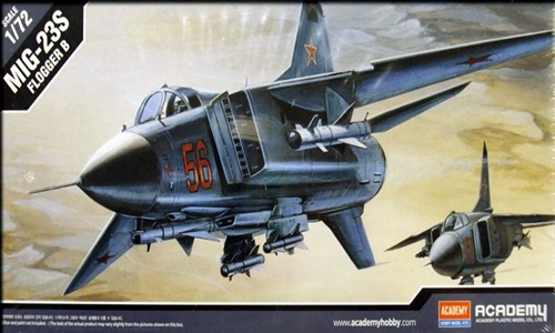 AC12445 MIG-23S FLOGGER B 1/72
