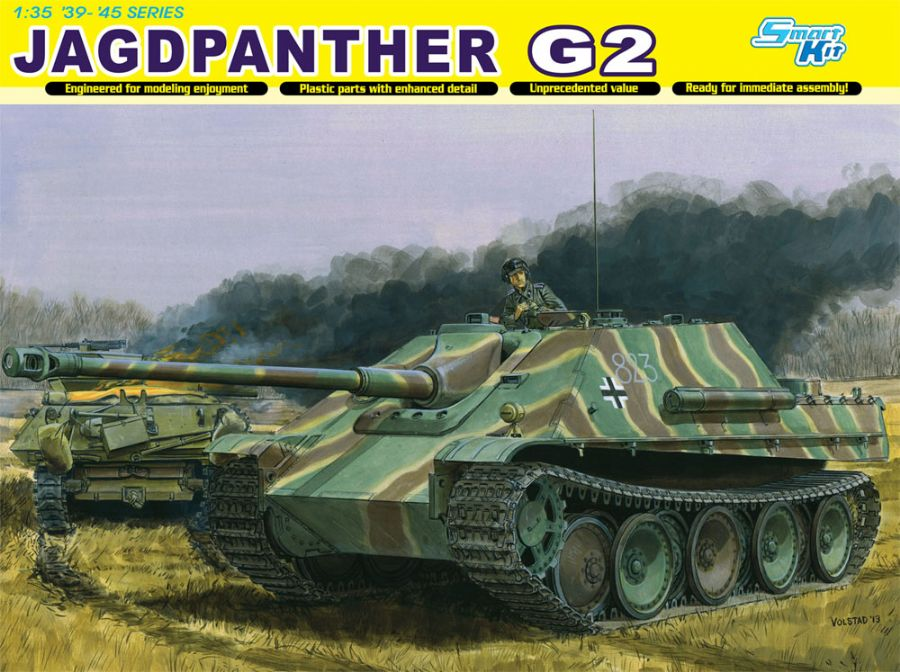 DRA6609 JAGDPANTHER AUSF.G2 1/35 SCALE