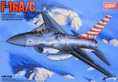 AC12259 F-16A/C FIGHTING FALCON (1/48)