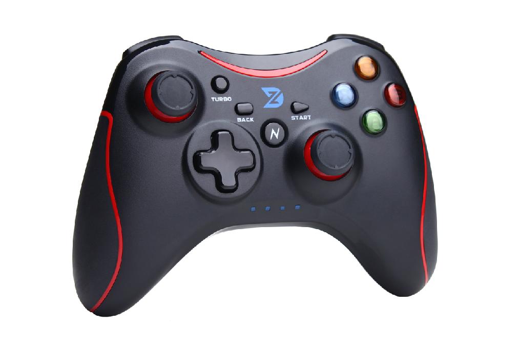 จอย ZD-N108 : มีสาย (ดำ-แดง) - ใช้งานเหมือน xbox 360