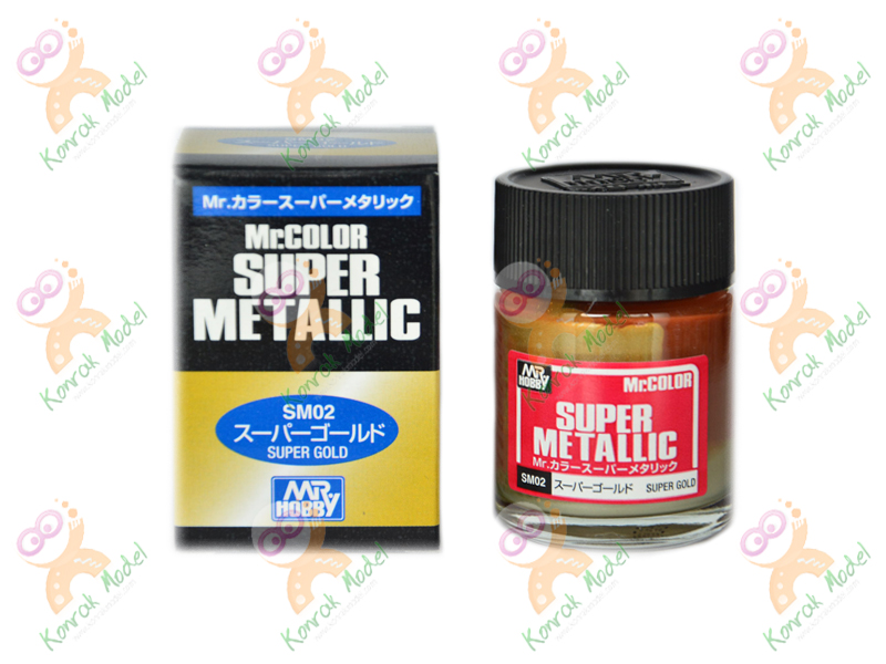 SM02 Mr Color Super Metallic [Super Gold]