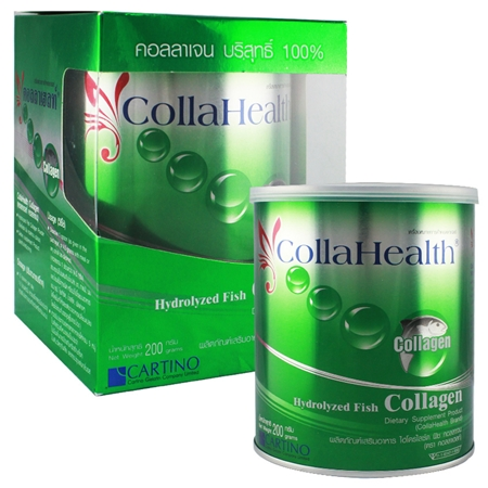 CollaHealth Collagen 200 g. คอลลาเฮลท์ คอลลาเจนบริสุทธิ์