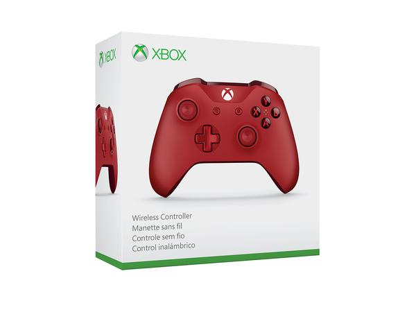 จอย Xbox One S (Gen3) Red (Wireless & Bluetooth)