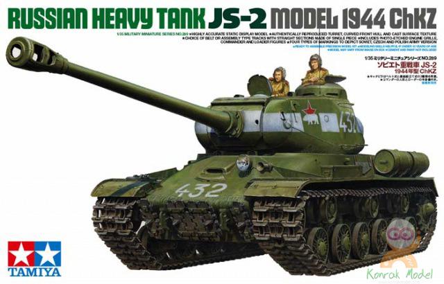 TA35289 Russian Heavy Tank JS-2 Model