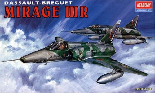 AC12248 MIRAGE IIIR FIGHTER (1/48)