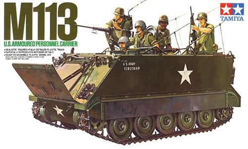 TA35040 M113 U.S.ARMOURED PERSONNEL CARRIER 1/35