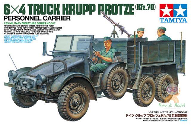 TA35317 1/35 German 6x4 Truck Krupp Protze