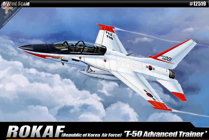 AC12519 Rokaf T-50 Advanced Trainer 1:72