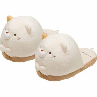 รองเท้าหัวโตใส่ในบ้าน Sumikko Gurashi แมว