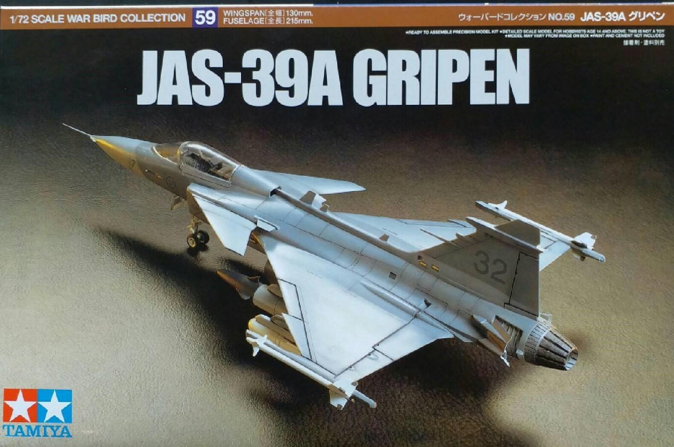 TA60759 JAS-39A Gripen 1/72 (บ.ข.20 ของ ทอ.ไทย)