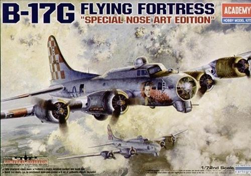 AC12414 B-17G FLYING FORTRESS ( 1/72 )