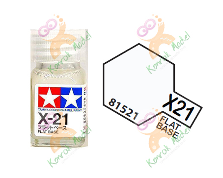 Enamel X21 Flat Base 10ml