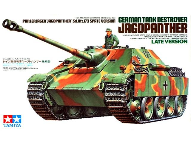 TA35203 Ger. Jagdpanther Late Version