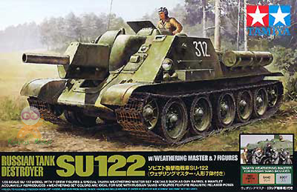 TA25111 1/35 Russian Tank Destroyer SU-122