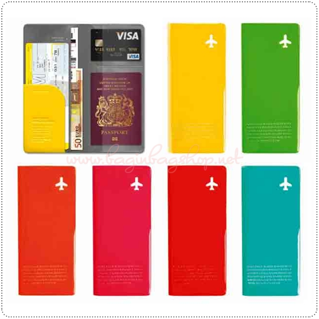 Happy Flight Travel Wallet