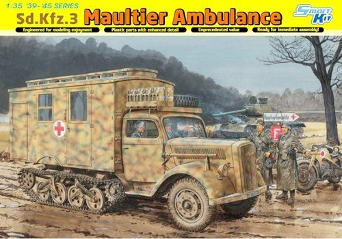DRA6766 Sd.Kfz.3 Maultier Ambulance (1/35)