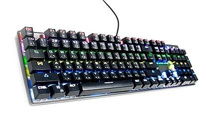 คีย์บอร์ด OKER K89 RGB Mechanical Keyboard (Red Switch)