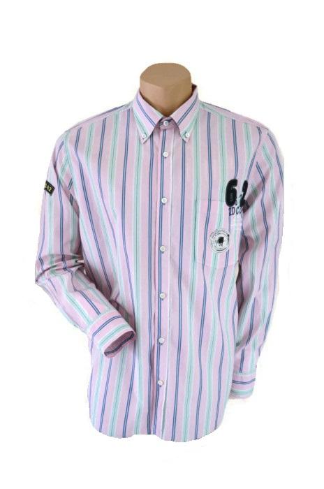 Next Pink Striped Shirt Size L