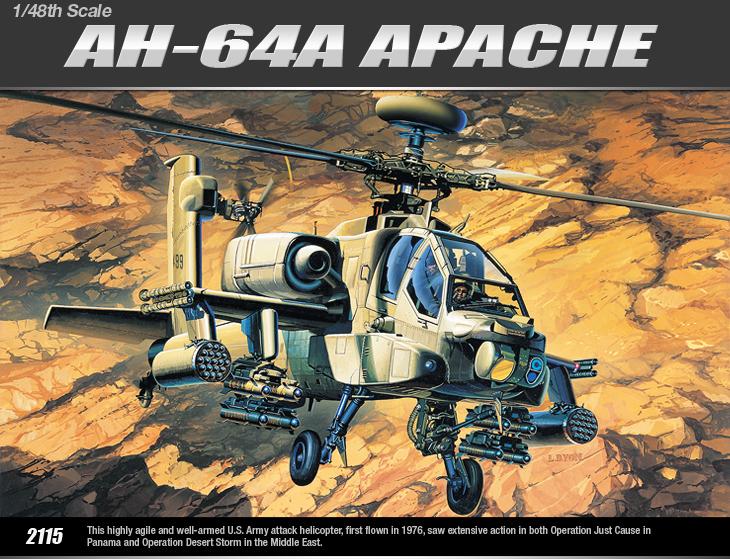 AC12262 AH-64A APACHE (1/48)