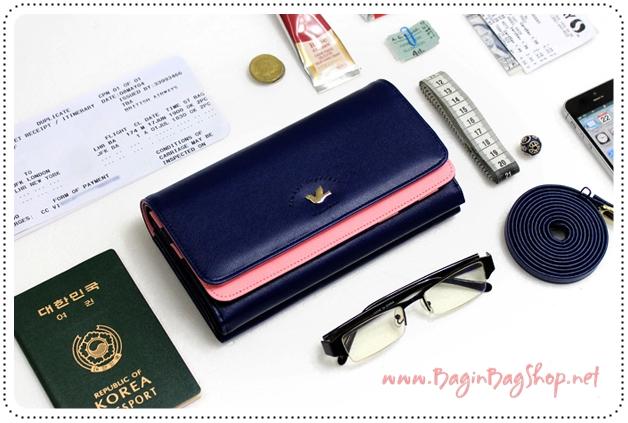Double Mini Bag กระเป๋าสะพาย เก็บของได้หลายชั้น