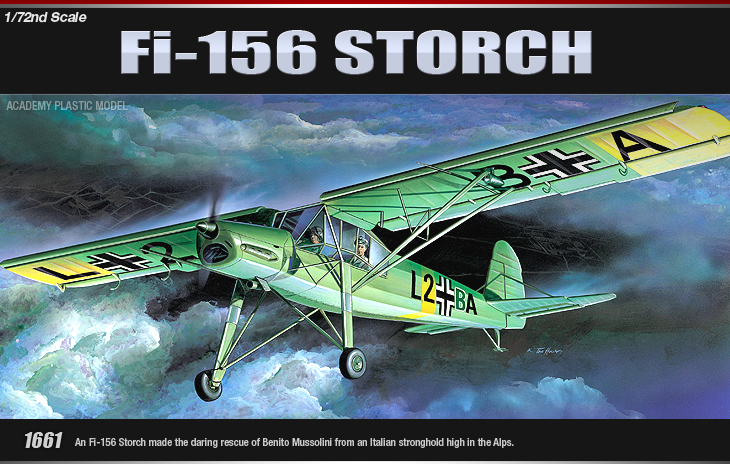 AC1661 FI-156 STORCH (1/72)