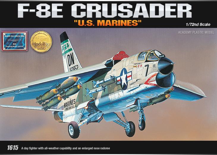 AC12440 F-8E CRUSADER(1/72)